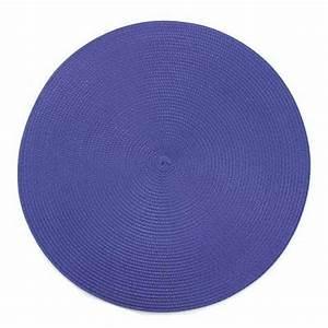 Set De Table Bleu : set de table rond bleu ~ Teatrodelosmanantiales.com Idées de Décoration