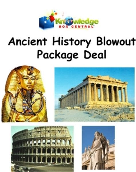 ancient history lapbook blowout package deal 50 off