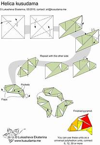 Helica Kusudama Folding Instructions