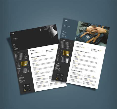 curriculum vitae cv design template  designers