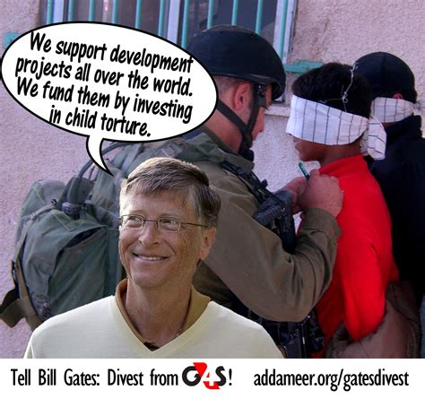 Bill Gates invest into Israel's torture of Palestinians ...