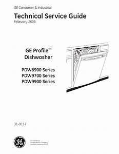 Download Free Ge Profile Dishwasher Operating Manual