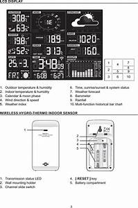 Ccl Electronics 8478a1705 Wifi Weather Station User Manual