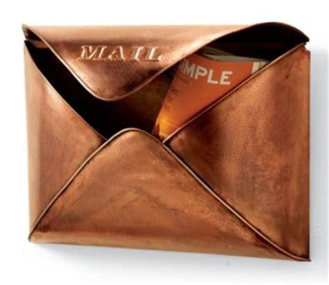 grandin road copper envelope wall mailbox lookless