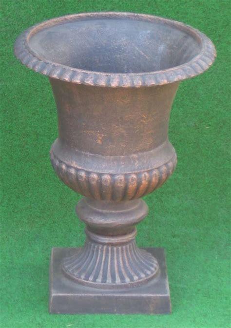 Gusseisen Amphore  Antik Bronze  37cm  Kratervase Ebay