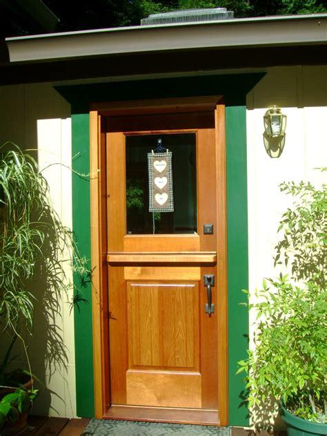 dutch door glass panel dutch door