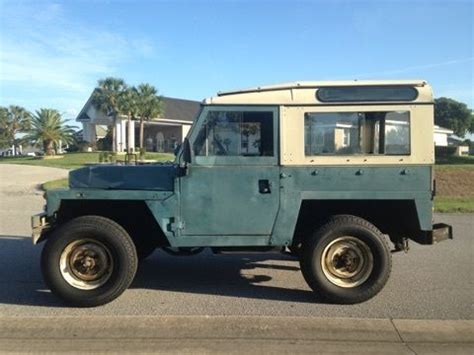1983 land rover series iii 88 quot lightweight diesel classic land rover defender 1983 for sale