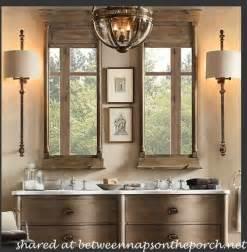 restoration hardware inspired bathroom renovation restoration hardware bathroom and