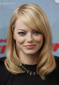 21 Trendy Hairstyles to Slim Your Round Face - PoPular ...