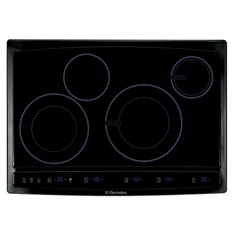induction cooktop electrolux electrolux ew30cc55gb 30 quot induction hybrid cooktop ew30cc55g sears outlet