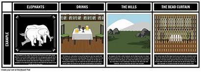Motifs Symbols Themes Hills Elephants Storyboard Littlehale