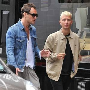 Jude Law and son Rafferty look almost identical spending ...