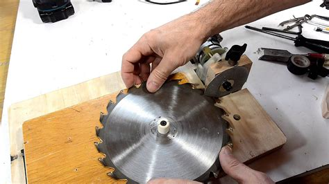 table  blade sharpening jig youtube