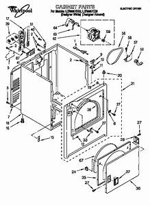 Whirlpool Electric Dryer Parts
