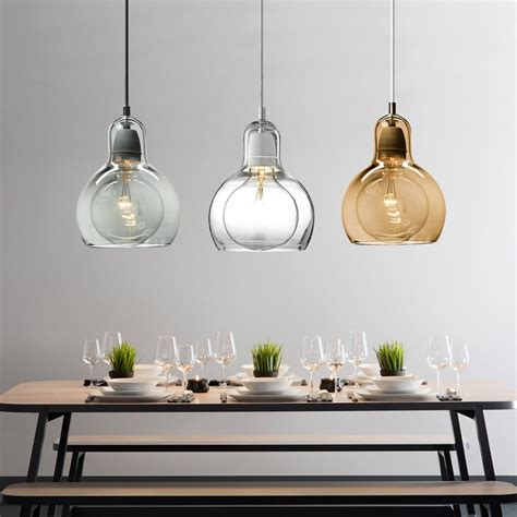hanging lighting fixtures for kitchen modern pendant light for kitchen big bulb l shade globe 6994