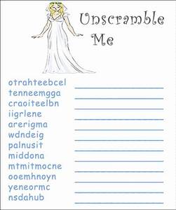 Printable bridal shower games for free we also have lots for Wedding shower games ideas