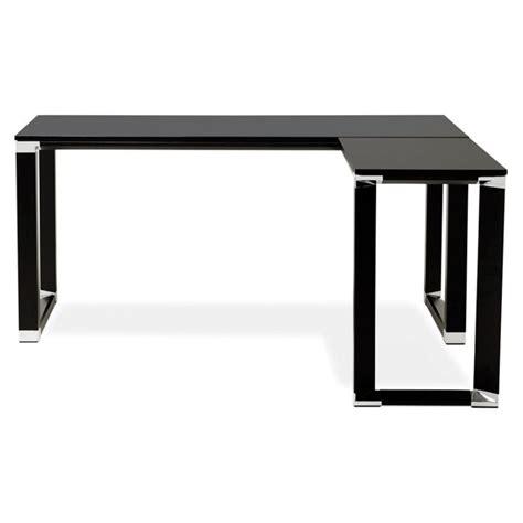 bureau d angle noir bureau d 39 angle design quot hovik quot bois noir