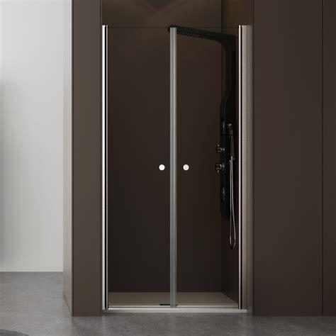 porte doccia nicchia nicchia doccia 90 cm porta saloon cristallo trasparente