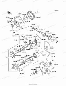Kawasaki Atv 1999 Oem Parts Diagram For Drive Shaft