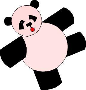 Cartoon Panda Bear clip art (103060) Free SVG Download / 4 ...