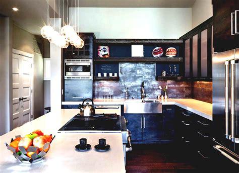 industrial interiors home decor fair 80 industrial kitchen decor design ideas of