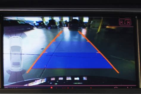 Audi Parking System Advanced Integrated Rear View Camera
