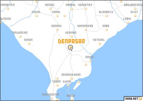 denpasar indonesia map nonanet