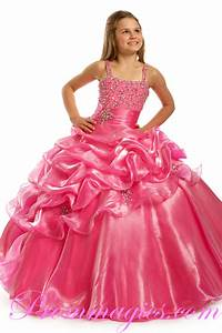 Girls Pink Party Dresses   Kzdress