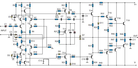 High Power Amplifier Circuit Updated Electronic