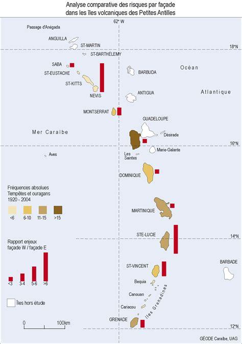 info carte petites antilles