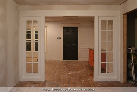 Home Depot Interior Door 4 Panel : My Finished Stationary French Door Panels