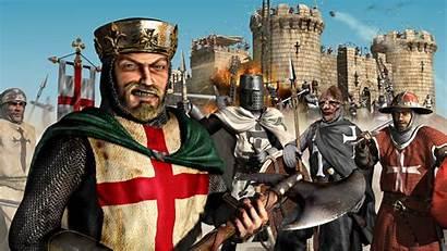 Crusader Stronghold Desktop Wallpapers Wallpapersafari