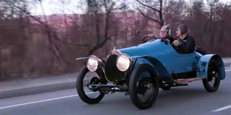 leno   oldest driving bugatti   world