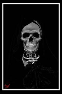 Im U00e1genes De La Santa Muerte Negra