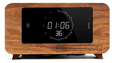 iphone alarm clock dock 5 creative wooden alarm clock iphone docks