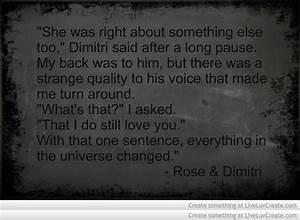 Vampire Academy Quotes | Rose & Dimitri | Vampire Academy ...