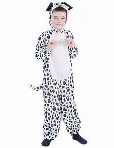 Dalmatian dog costume for children.