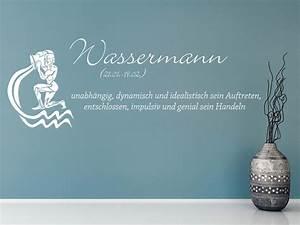 Wassermann Sternzeichen Eigenschaften : wandtattoo sternzeichen wassermann wandtattoo de ~ Orissabook.com Haus und Dekorationen