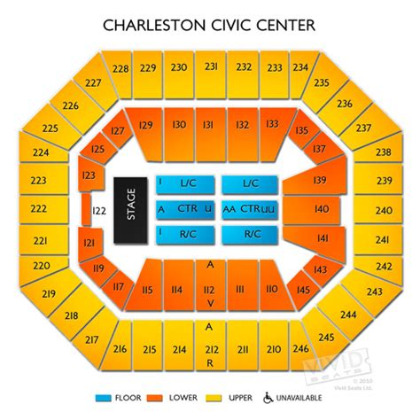 Charleston civic center seating chart best seat 2018