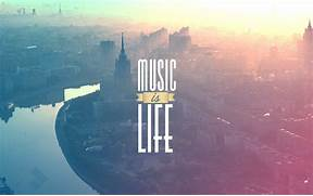Music is life quote HD Wallpaper  Music Is Life Quotes