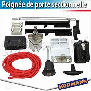Poignée Porte De Garage : poign e fonte alu blanche sectionnelle h rmann ~ Nature-et-papiers.com Idées de Décoration