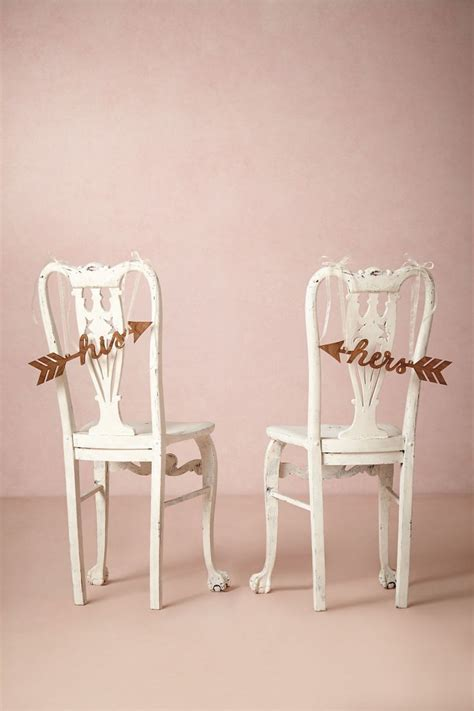 his and hers wedding chairs in pink and gold cassiefairy