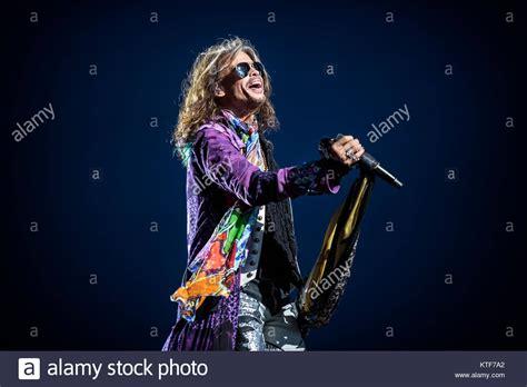 Singer Steven Tyler Aerosmith Performs Stock Photos