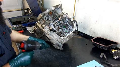 aw sn refa transmission teardown inspection