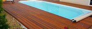 Bois Pour Terrasse Piscine : terrasse pour piscine en bois nos conseils ~ Edinachiropracticcenter.com Idées de Décoration