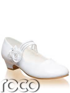 Girls White Communion Shoes