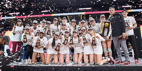 Womens Volleyball Wins Eighth National Championship The