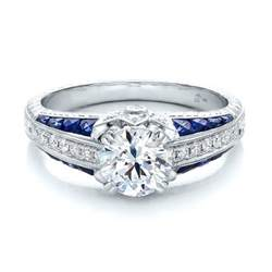 blue sapphire engagement ring and blue sapphire engagement ring 100390