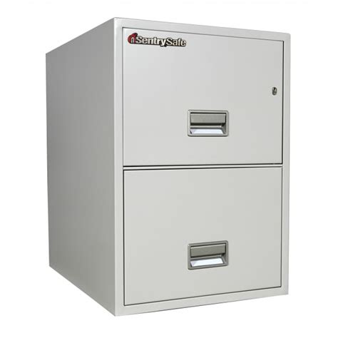 sentry 2g2510 2 drawer file cabinet with fire impact