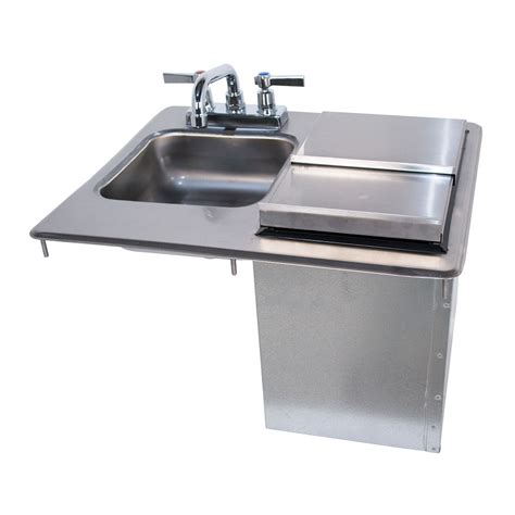 drop in hand sink advance tabco d 24 sibl x drop in commercial hand sink w